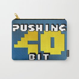 Pushing 40 Bit - Logo Carry-All Pouch