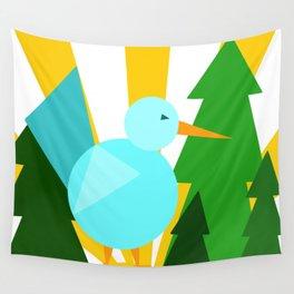 Birdie bright Wall Tapestry