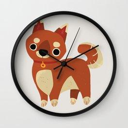 Shibe Wall Clock