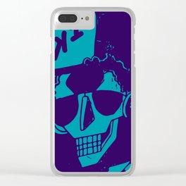 Esqueleto buena onda Clear iPhone Case