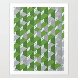 3D Lovely GEO VII Art Print