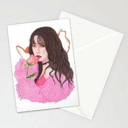 Irene Red Velvet Bad Boy Stationery Cards
