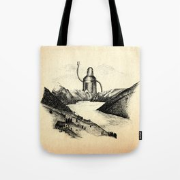 A Visitor From The North Tote Bag