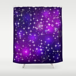 Sun rays and light effects. Shower Curtain