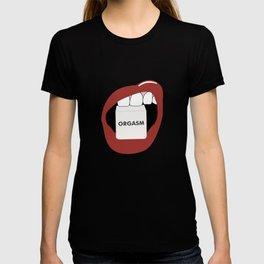 > o r g a s m T-shirt