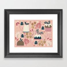 Holiday Delights Framed Art Print