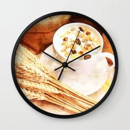Cereal Food Wall Clock
