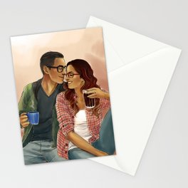 You're my favorite song Stationery Cards