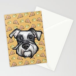 Peter loves pizza and cheese Stationery Cards