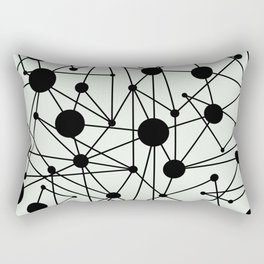 We're All Connected Rectangular Pillow