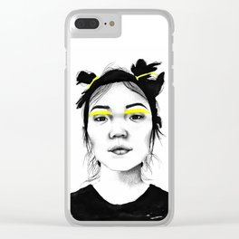 Xiao Wen Ju Clear iPhone Case