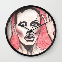 "Alyssa Edwards; ""She was the one backstabbing me behind my back!"" Wall Clock"