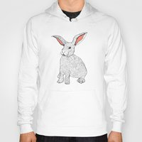 rabbits Hoodies featuring Rabbits by Wee Jock