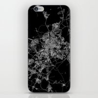 madrid iPhone & iPod Skins featuring Madrid by Line Line Lines
