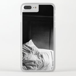 Restless Night Clear iPhone Case