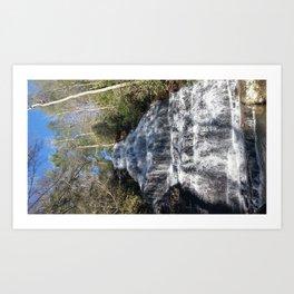 TN Waterfall Art Print