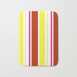 Stripes in colour 4 Bath Mat