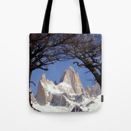 Fitz Roy Mountain Landscape (Patagonia, South America) Tote Bag