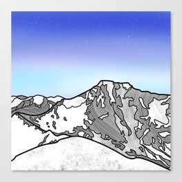 Ben Nevis Scotland Canvas Print