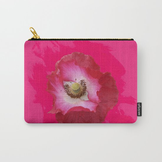 Waltz - hot Pink Carry-All Pouch