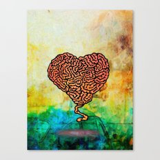 Brainheart Canvas Print