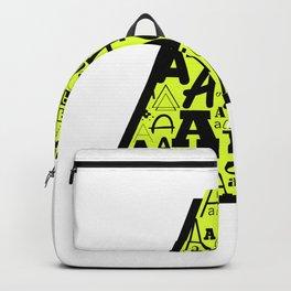 Letter A Backpack