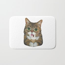 Lil Bub - famous cat Bath Mat
