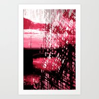 Deconstruction. Art Print