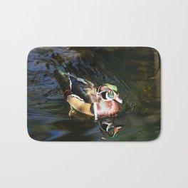 Beautiful Wood Duck Bath Mat