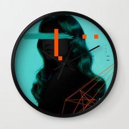 Around minimal design Wall Clock