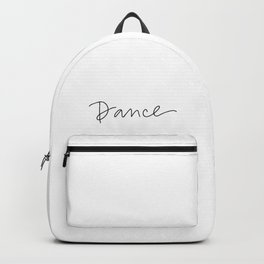 Dance Off Backpack