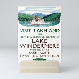 Nostalgia Lake District Lakeland British Railways Mini Art Print