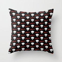 Deadpolar Throw Pillow