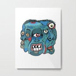 Number #33 Metal Print