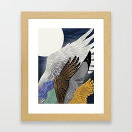 Stilt Jack Framed Art Print
