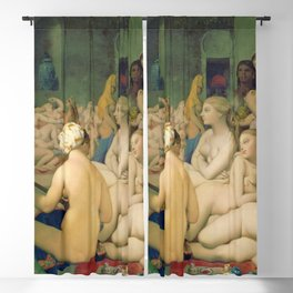 "Jean-Auguste-Dominique Ingres ""The Turkish Bath"" Blackout Curtain"