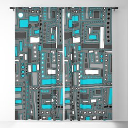 Turquoise Dream (Pattern) Blackout Curtain