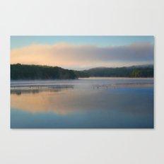 Sunrise on the Reservoir Canvas Print