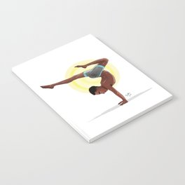 Charging Scorpion Pose Notebook
