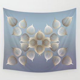 Golden daybreak Wall Tapestry