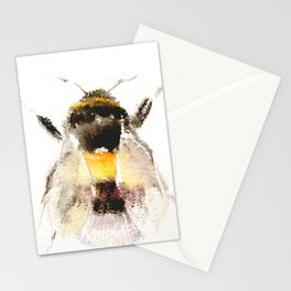 Bumblebee, fuzzy bee Stationery Cards