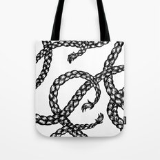 Twisted Braids Tote Bag