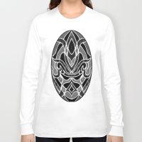 fleur de lis Long Sleeve T-shirts featuring Fleur De Lis by ArtLovePassion