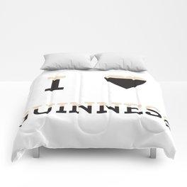 I heart Guinness Comforters