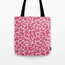 Branches - pink Tote Bag