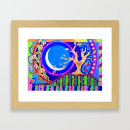 Seasons & Phases Framed Art Print