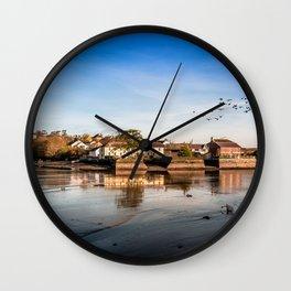 Harbor of Kinsale Wall Clock