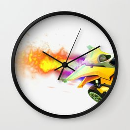 Rocket League Gamer E-Sports Competitive Gaming Wall Clock