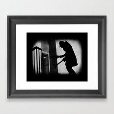 Die Toilette (in German) Framed Art Print