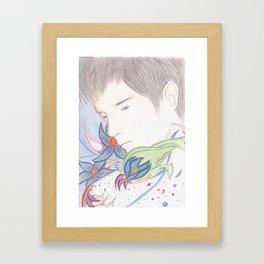 Течь. Framed Art Print
